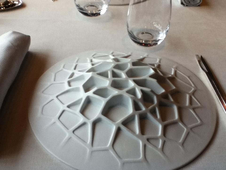 sul tavolo questo piatto