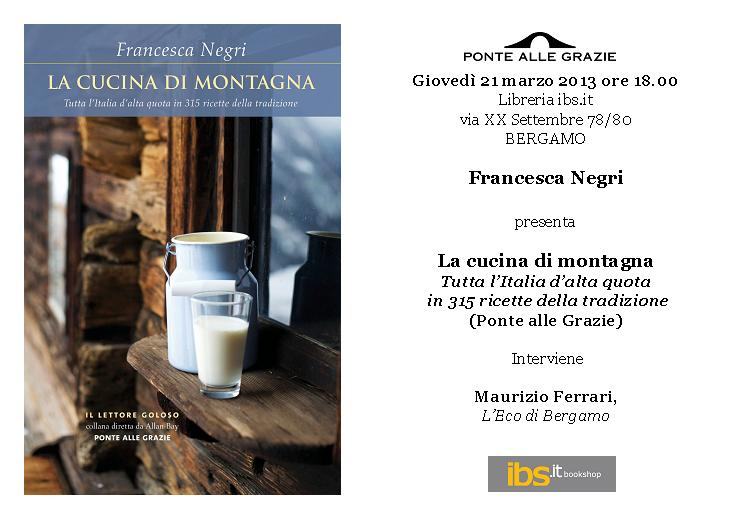 Invito Negri - Bergamo