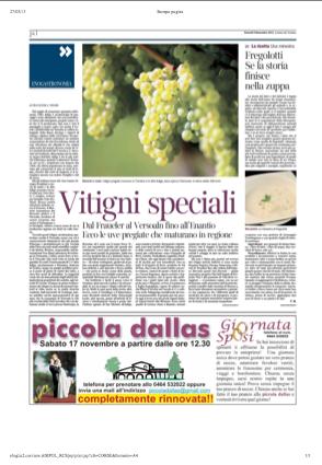 9 nov 2013 Vitigni speciali