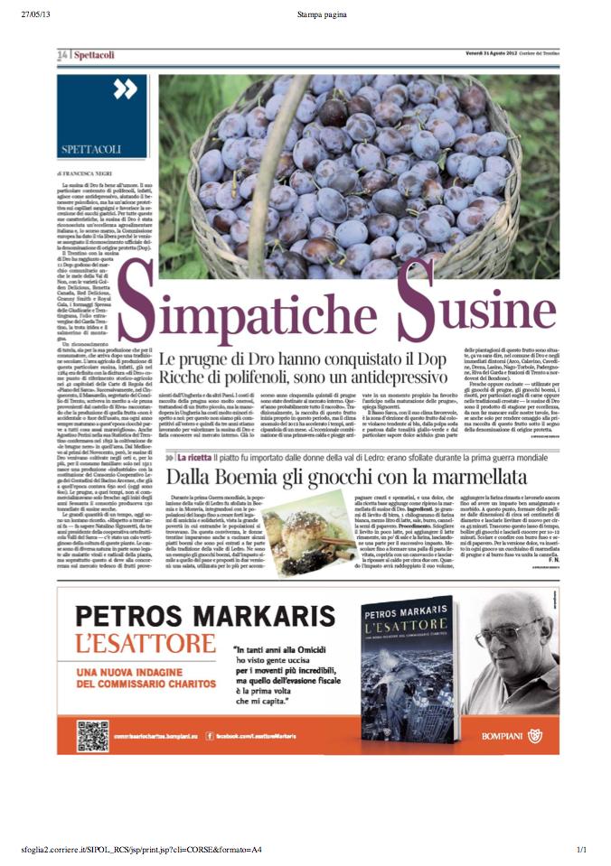 1 set 2013 Simpatiche Susine