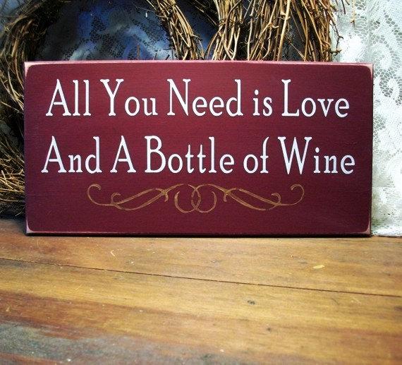 love and wine