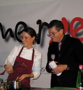 Barbara Troncia e Luigi Cremona