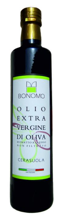 olio bonomo bottiglia