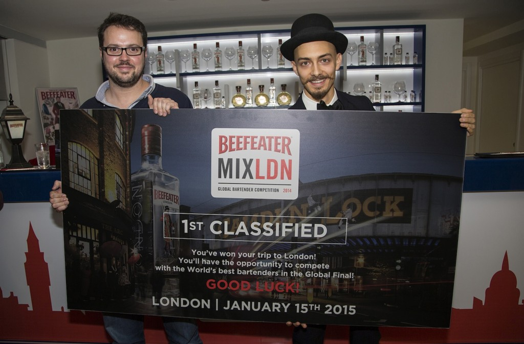 Tim Stones e Roberto Rossi - BEEFEATER MIXLDN 2014