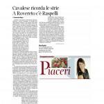 02 gennaio 2016 Corriere del Trentino Cavalese ricorda le strie A Rovereto c'è Raspelli