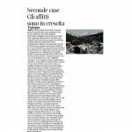 02:12:2015 Corriere del Trentino Seconde case gli affitti sono in crescita