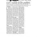09-01-2017 Corriere Imprese Trentino Alto Adige La grappa in America con i soldi di Bruxelles