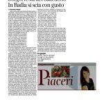 10-12-2016 Corriere del Trentino e dell'Alto Adige Borgo festa del canederlo In Badia si scia con gusto