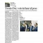 12 04 2016 Corriere del Trentino Trento Doc voto in base al peso
