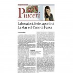 22-08-2015 Corriere del Trentino Laboratori, feste, aperitivi
