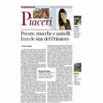 23 04 2016 Corriere del Trentino Pecore, mucche e asinelli. Ecco le star del Primiero