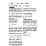 23:05:2015 Corriere del Trentino Ai fornelli soltanto fumo