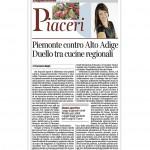 24-01-2015 Corriere del Trentino Piemonte contro Alto Adige