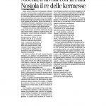 25-03-2017 Corriere del Trentino e dell'Alto Adige Moena a tavola con la Fata Nosiola il re della kermesse