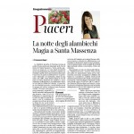Corriere dell'Alto Adige 05:12:2015 La notte degli alambicchi