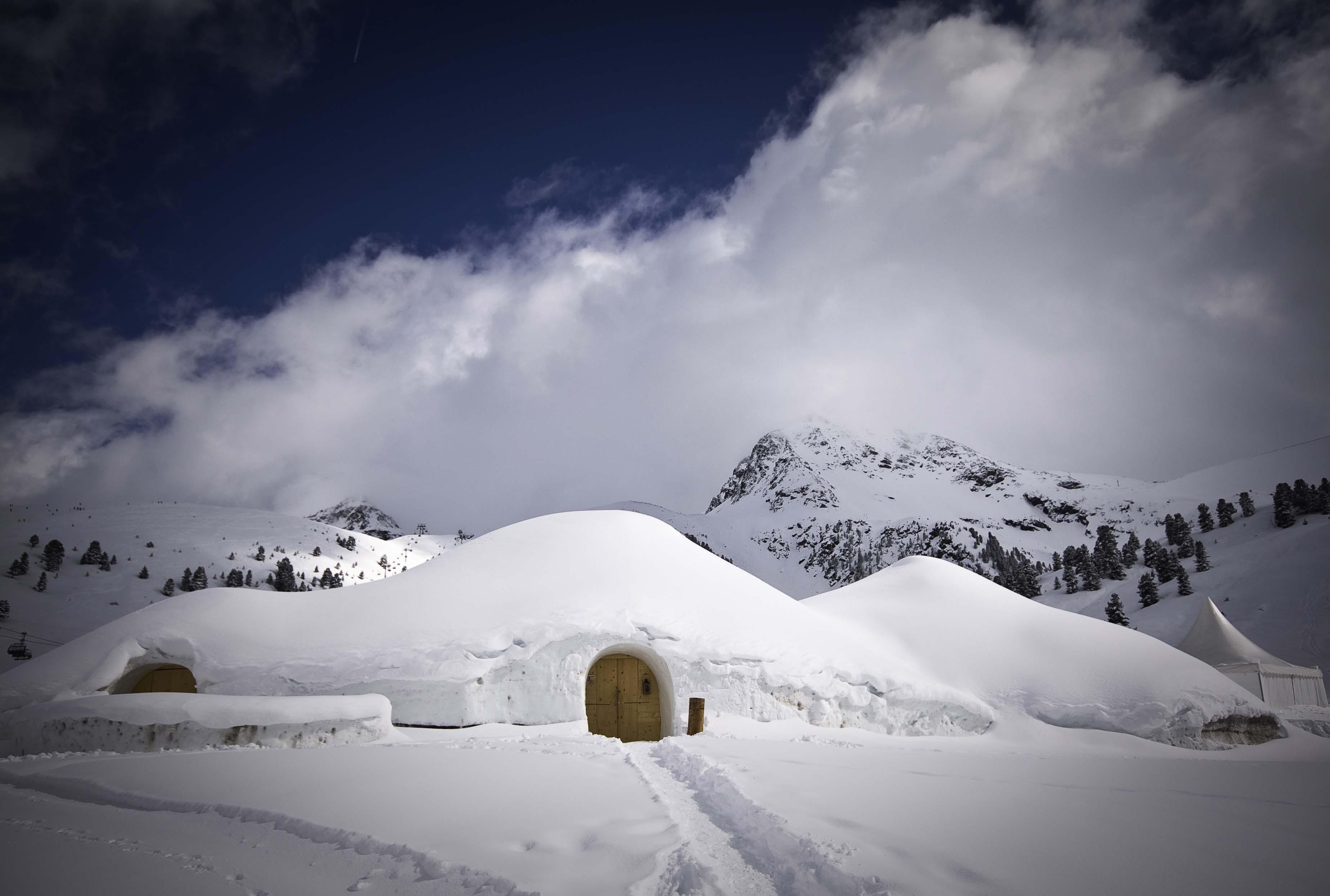 Innsbruck_Kuhtai_Iglu Village