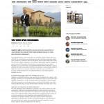 ADToday.it 25 ottobre 2014 Un vino per sognare