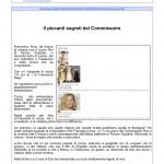 VanityFair.it 05 febbraio 2014 Il piccanti segreti del Commissario