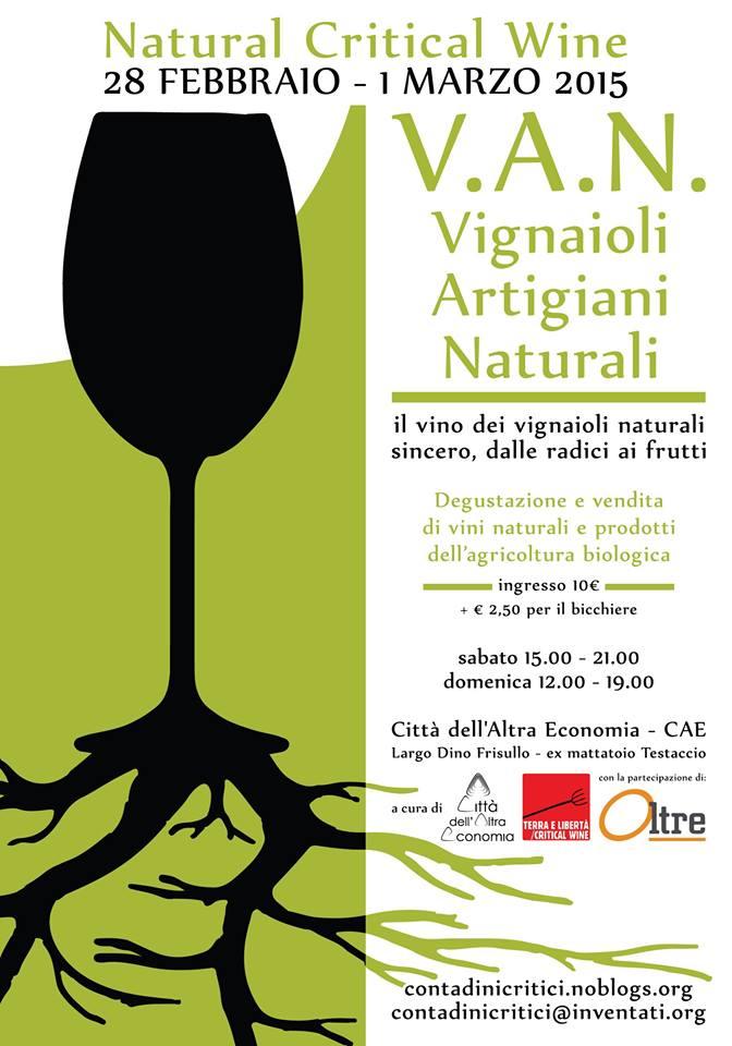"""I vini """"naturali"""" scendono a Roma"""