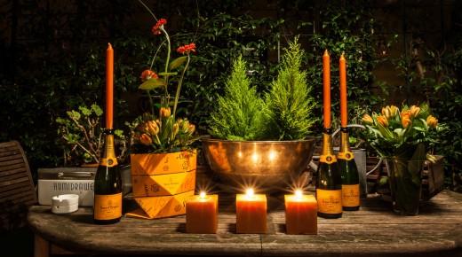 Lezioni di Champagne con il social eating Veuve Clicquot