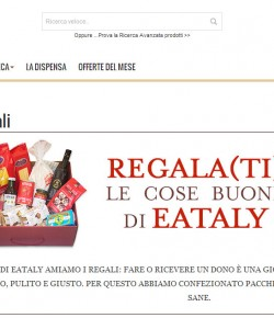 L'e-commerce di Eataly fa il botto: oltre 5 milioni di fatturato nel 2014