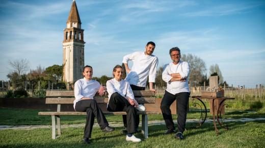 4 nuovi chef per Venissa