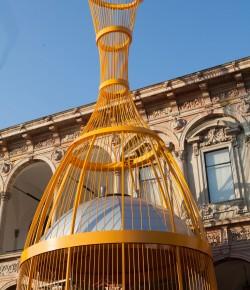 Lo Champagne si fa scultura con la VEUVE CLICQUOT TOWER