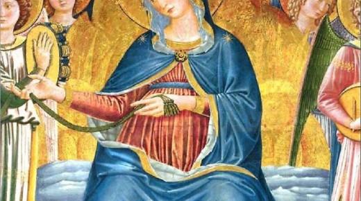 Sagrantino mecenate, restituisce la Madonna della cintola a Montefalco