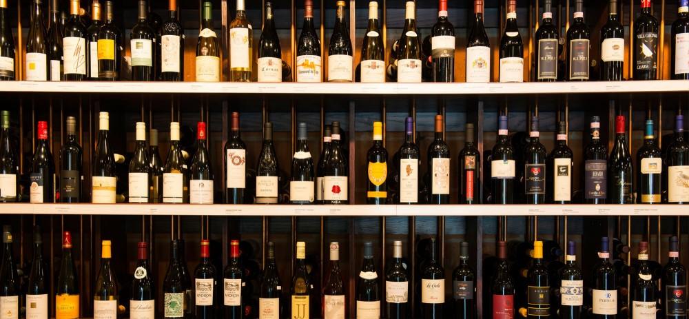 parete vino