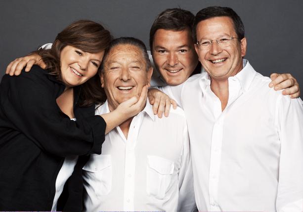 Copia di Cristina, Franco, Paolo e Arturo Ziliani - ph Krieger