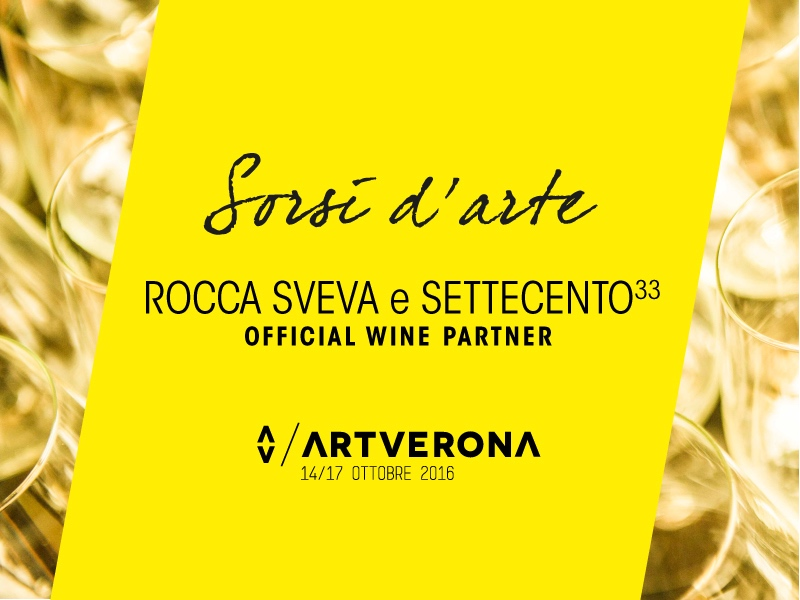 Official Wine Partner ArtVerona 2016