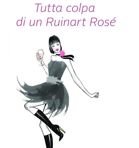 Esce oggi Tutta colpa di un Ruinart Rosé, il mio nuovo romanzo