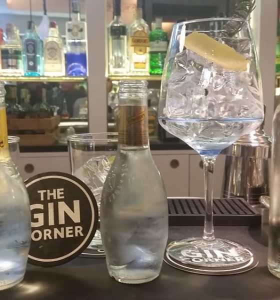 You are the Tonic to my Gin, Schweppes & The Gin Corner a Roma