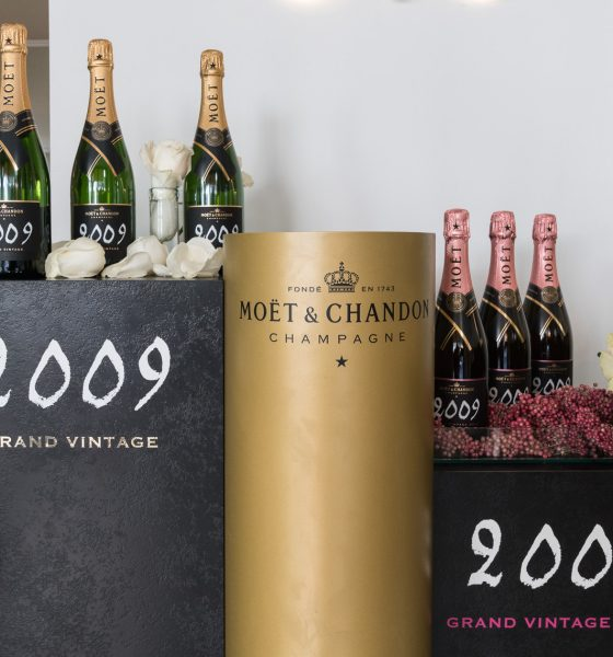 Moët & Chandon Grand Vintage 2009 è soprattutto Rosé