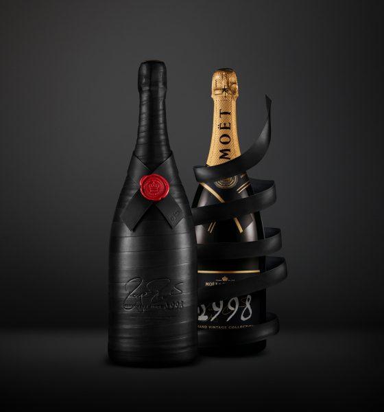 Moët & Chandon omaggia Roger Federer: 20 bottiglie vintage 1998 per la sua Fondazione